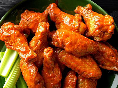 Chicken Wings with 65 Sauce